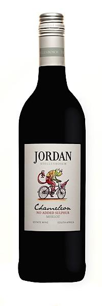 Jordan Chameleon No added Sulphur Merlot - Jordan Wine Estate