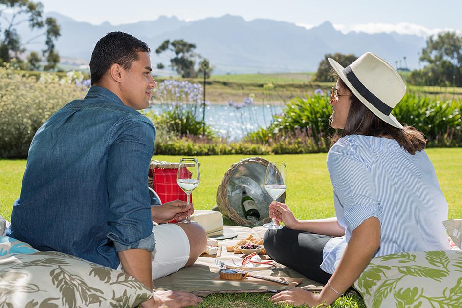 Stellenbosch wine estate picnics